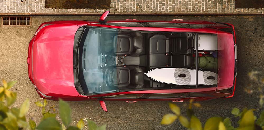 Прозрачная крыша автомобиля