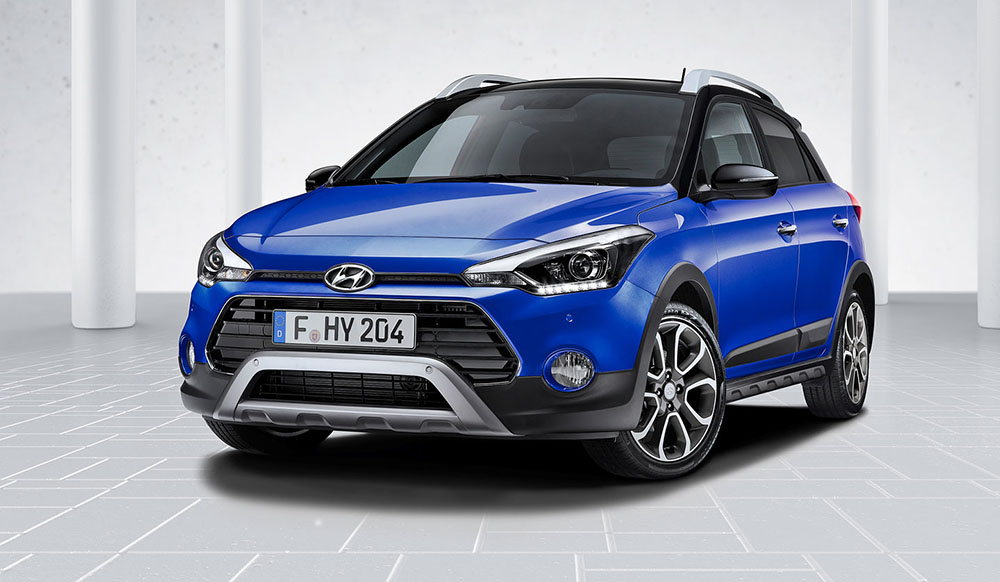 Пятидверная Hyundai i20
