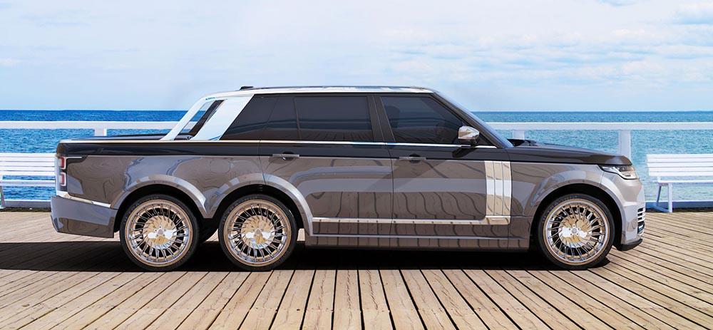 SLT Range Rover 6x6 от T.Fotiadis Design