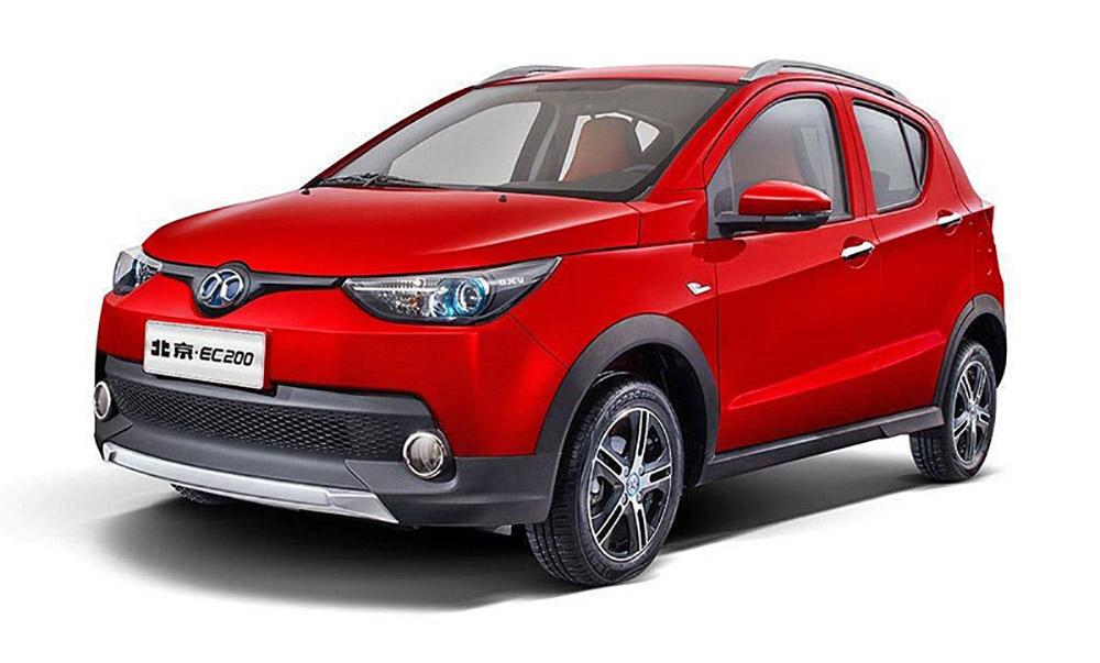 Наиболее продаваемый в мире электромобиль BAIC EC