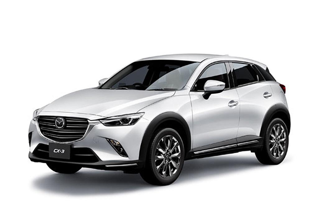 Mazda CX-3 получит новый мотор
