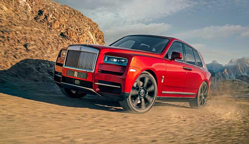 Кроссовер Rolls-Royce Cullinan