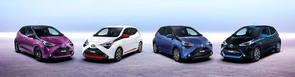В линейке Toyota Aygo два новых цвета кузова