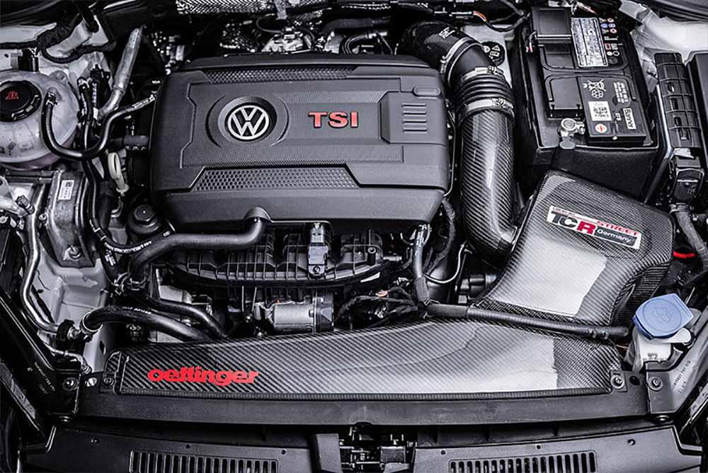 Турбированный двигатель также модифицирован