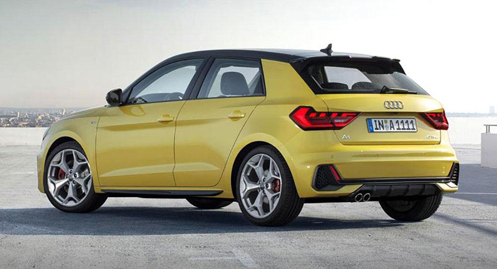 Audi A1 имеет современный внешний вид