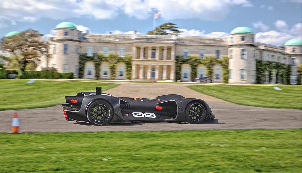 Автономный спорткар примет участие в гонке