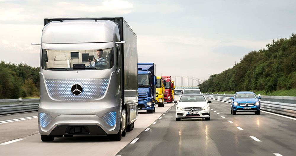 Автономные автомобили Mercedes-Benz достигают третьего и четвёртого уровня автоматизации