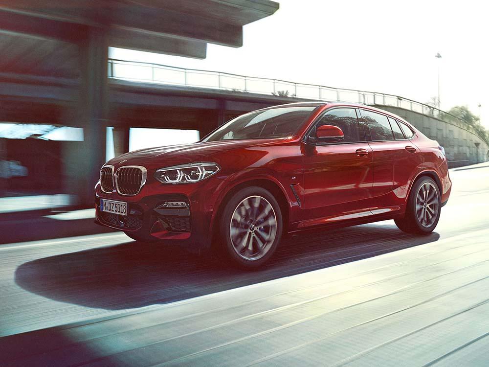 Кроссовер BMW X4