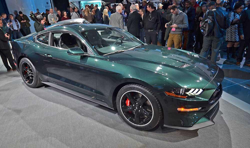 Ford Mustang Bullitt на автошоу
