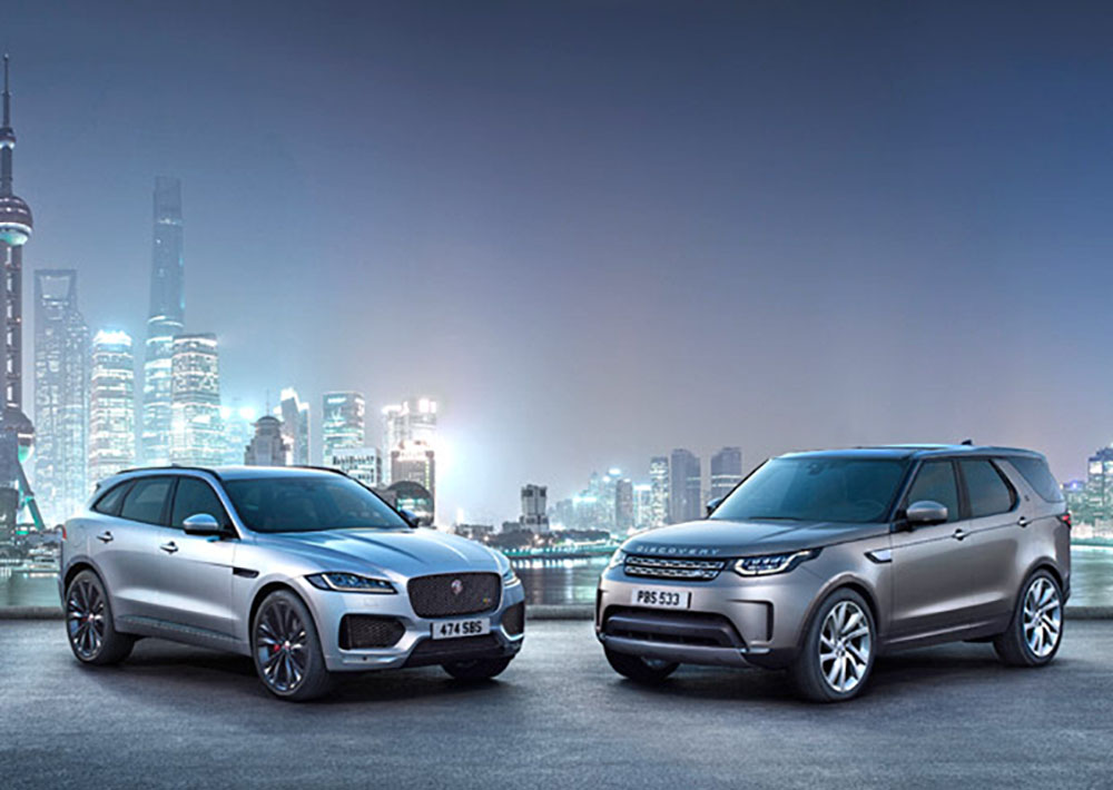Автомобили Jaguar и Land Rover