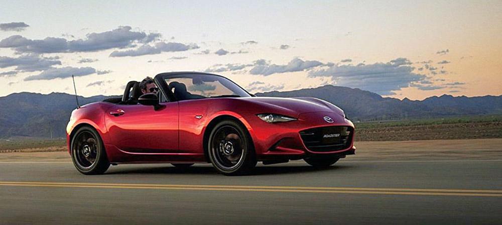 Обновлённая Mazda MX-5