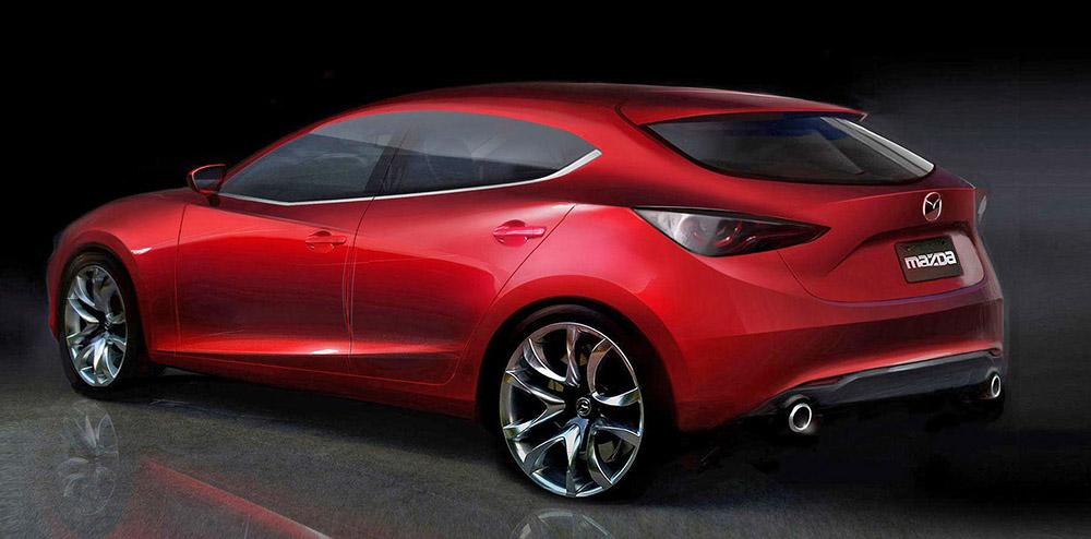 Новая Mazda 3 скоро выйдет