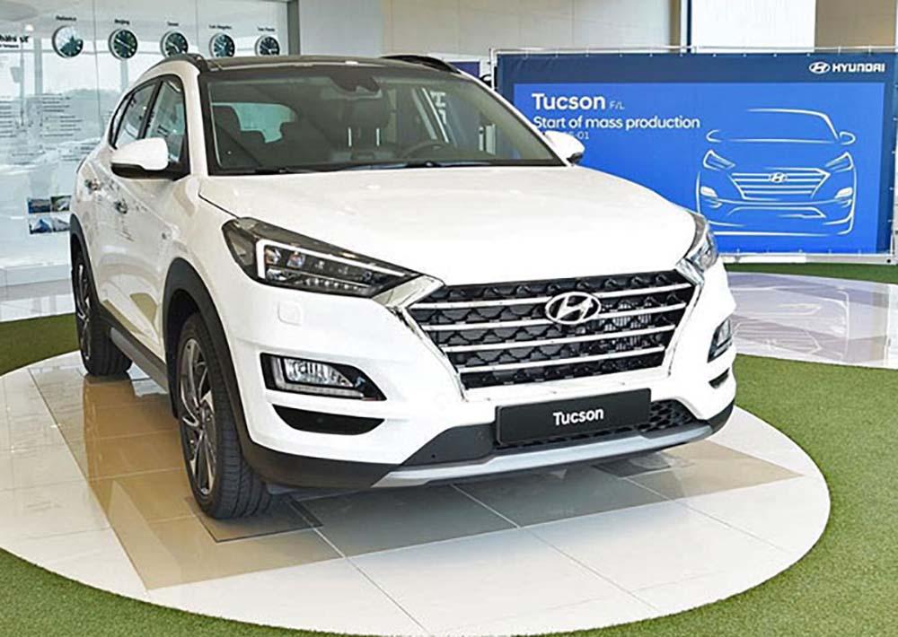 Обновлённый Hyundai Tucson