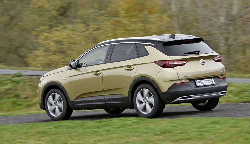 Кроссовер Opel Grandland X