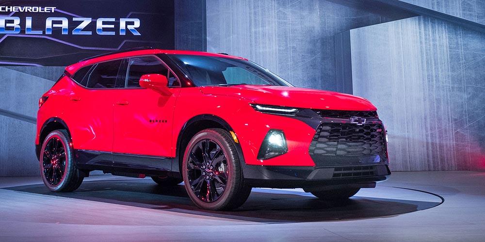 Премьера Chevrolet Blazer