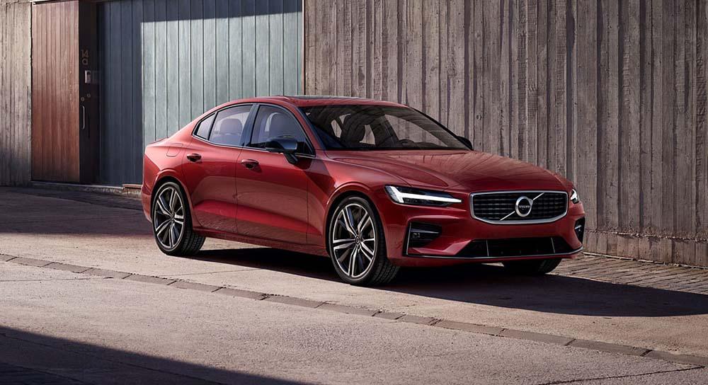 Седан нового поколения Volvo S60