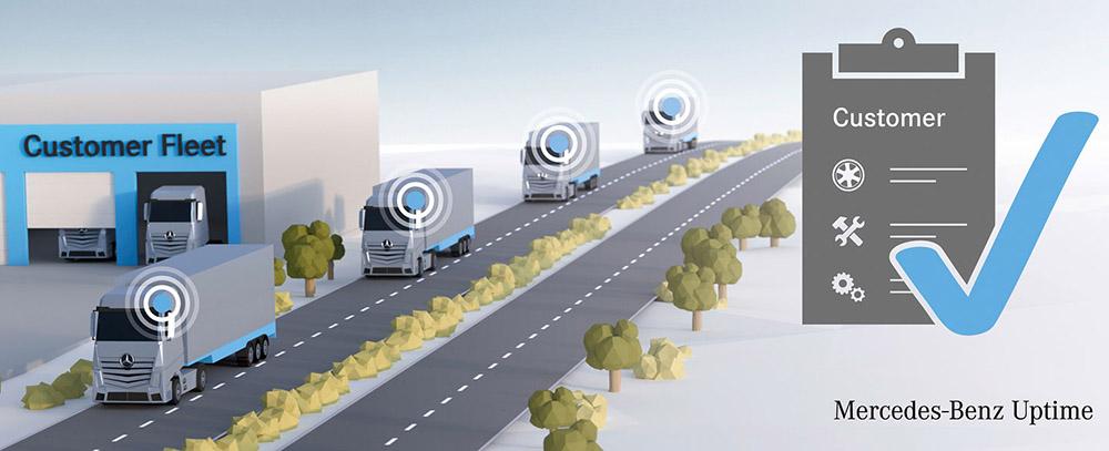 Благодаря связи с автомобилями перевозчик получает огромный массив информации