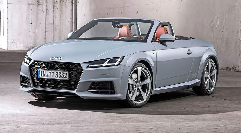 Обновлённый Audi TT Roadster