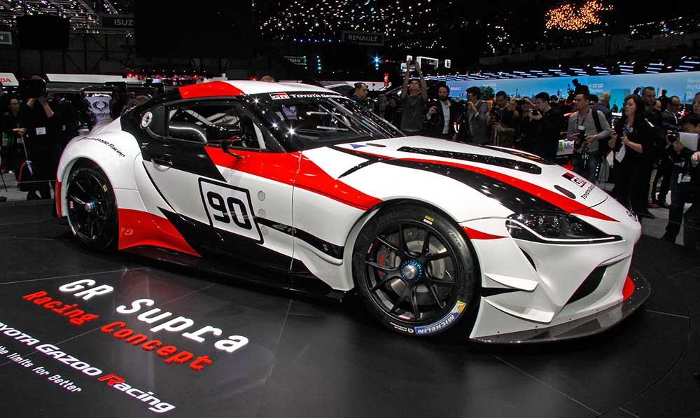 Гоночный концепт в Женеве от Gazoo Racing