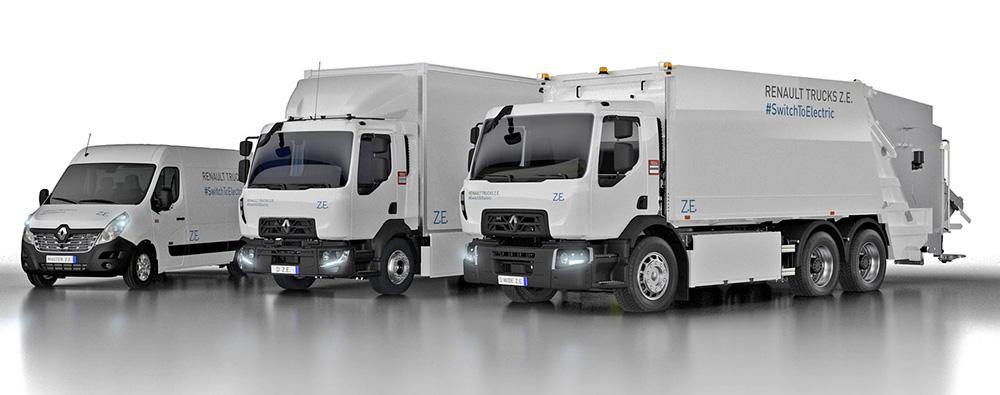 Грузовые электромобили Renault Trucks