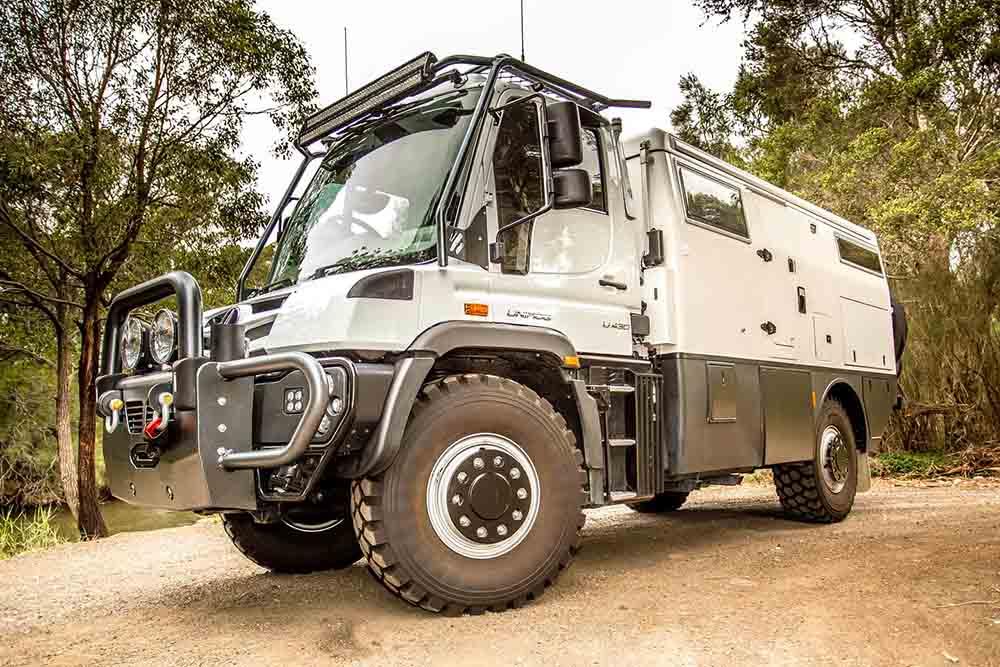 Автодом Mercedes-Benz Unimog EarthCruiser Explorer XPR440