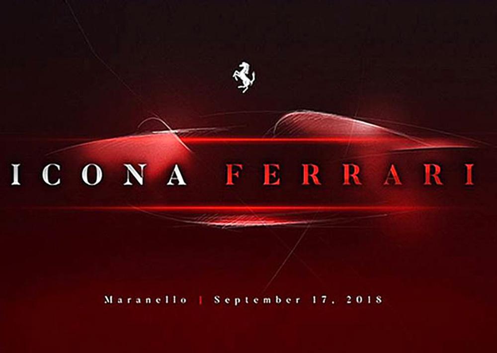 Тизер Icona Ferrari